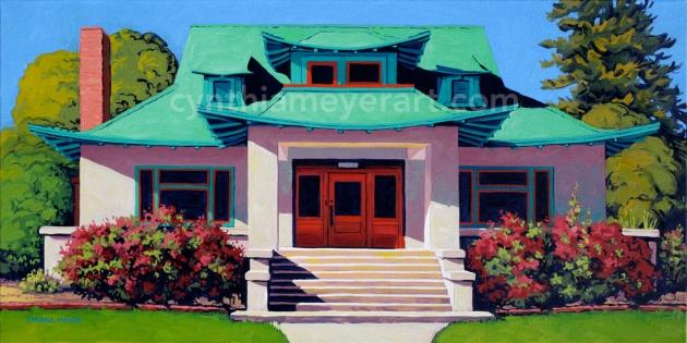 Orientalist-bungalow-painting